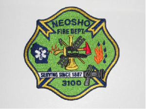 Fire Department Patch