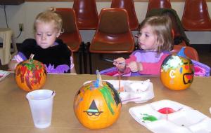 Library Pumpkins