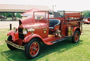 Old Time Fire Truck II