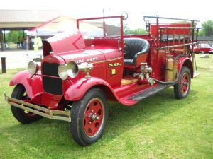 Old Timer Fire Truck